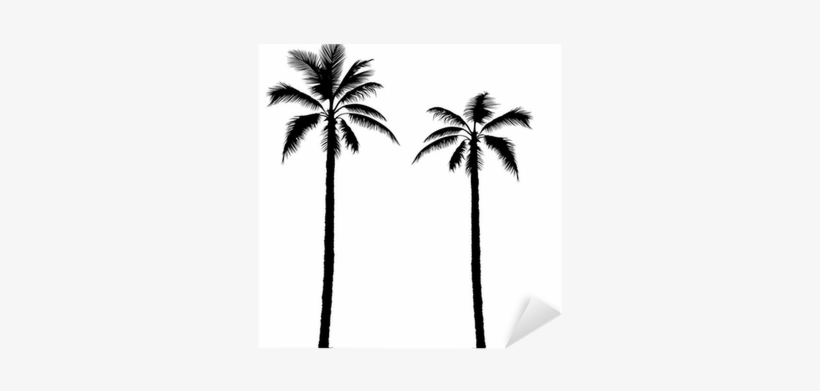 Palm Tree Silhouette Clip Art, transparent png #320278