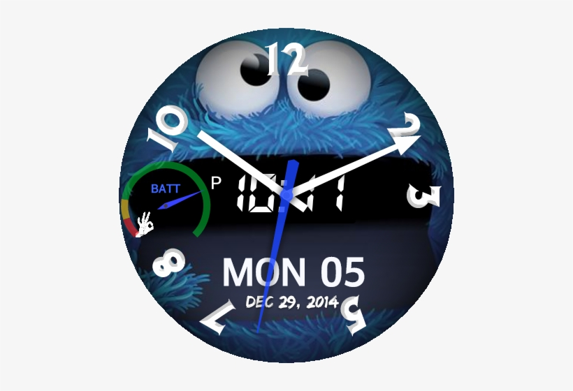 Cookie Monster Face Png - Cookie Monster, transparent png #320299