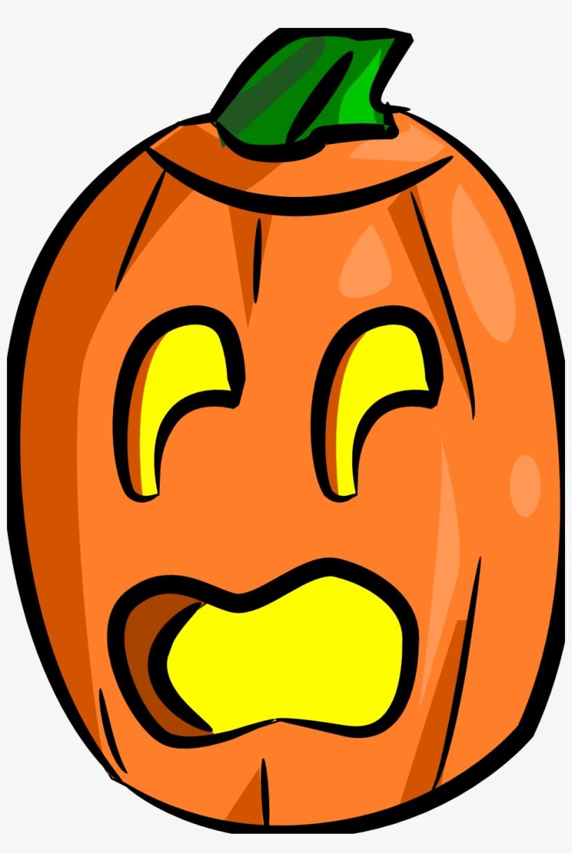 Jack O Lantern Totally Free Clip Art - Scared Jack O Lantern Clipart, transparent png #321002
