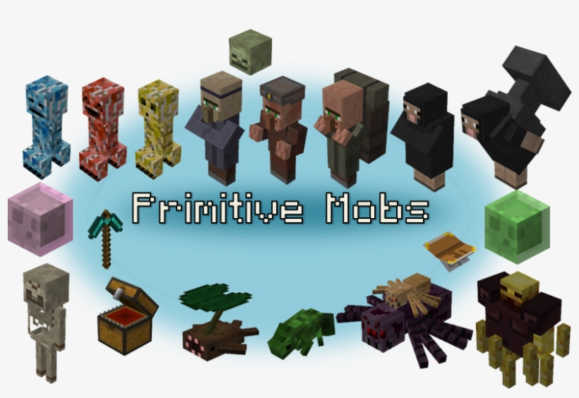 Update - Primitive Mobs 1.12 2, transparent png #321021