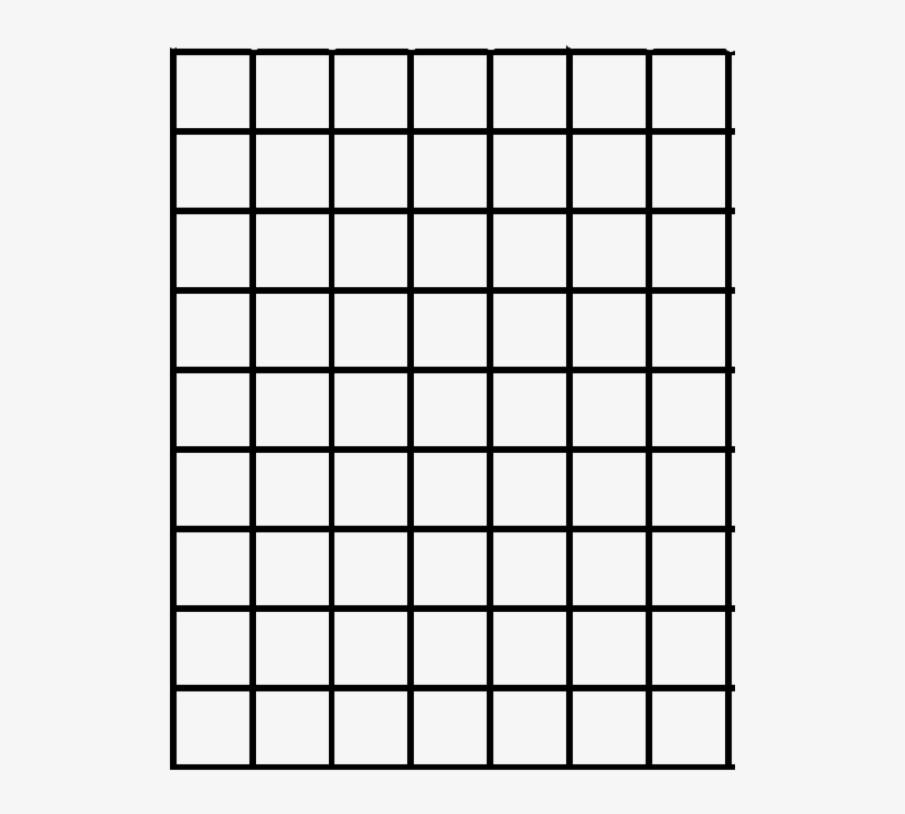 Print Out The Grid Below On A Piece Of Clear Plastic - Draw A Line From Start To Finish You Must Use Every, transparent png #321275