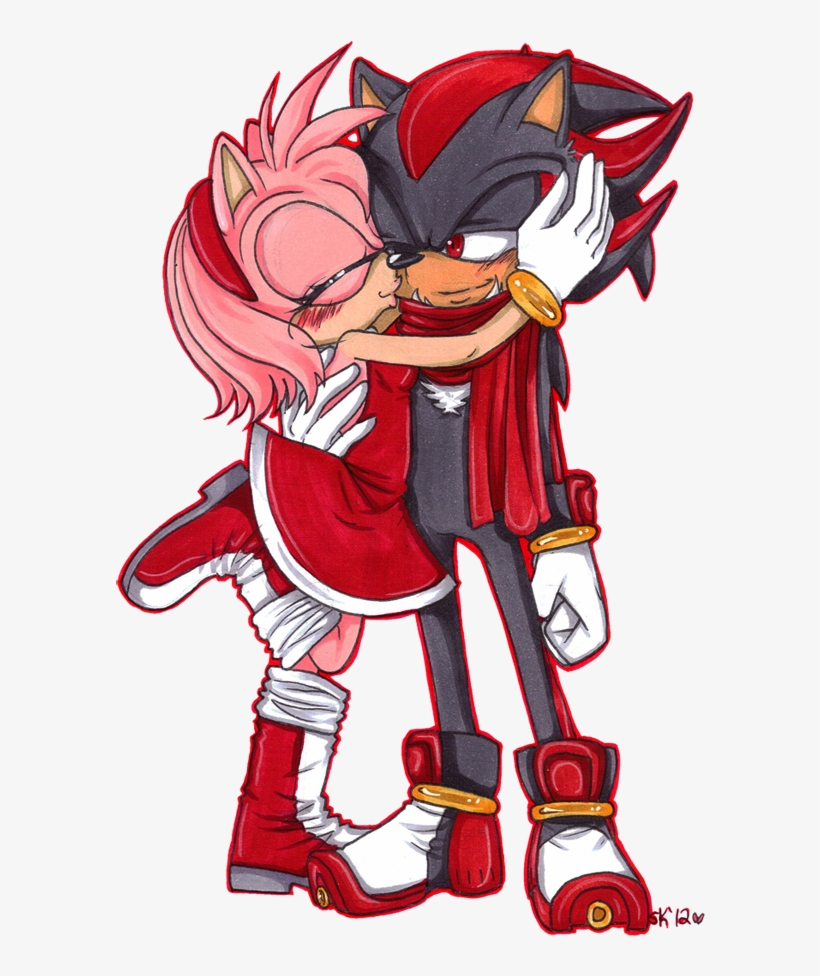Sonic Hintergrund Possibly With Anime Entitled Shadow Amy And Sonic The Hedgehog Free Transparent Png Download Pngkey