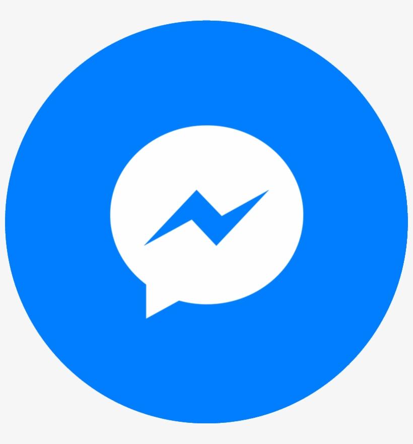 Facebook Messenger Button - Download Aplikasi Facebook Messenger, transparent png #321769