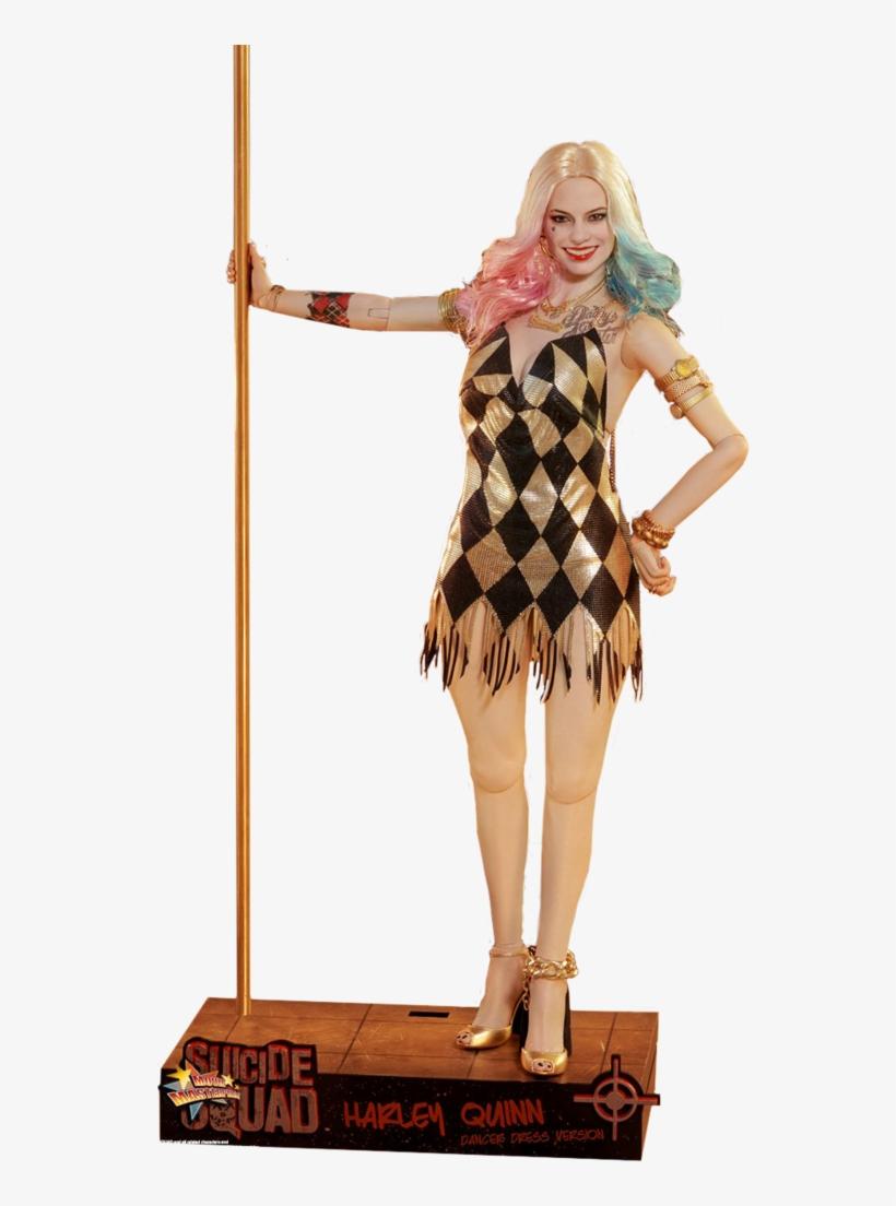 """Harley Quinn Dancer 12"""" - Hot Toys Harley Quinn Dancer, transparent png #321905"""