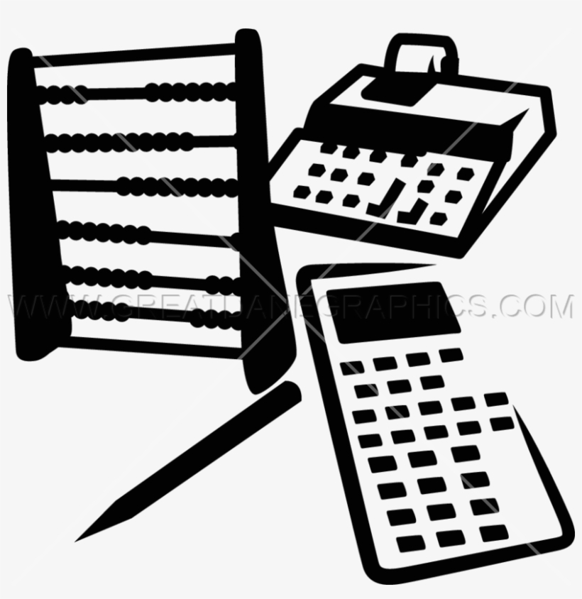 Vector Freeuse Accountant Clipart Black And White - Accountant Tools, transparent png #322085
