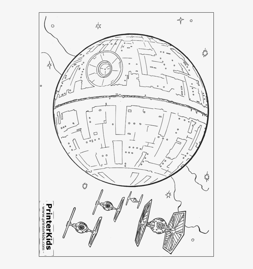 Lego Death Star Coloring Page 2 By James - Star Wars ...