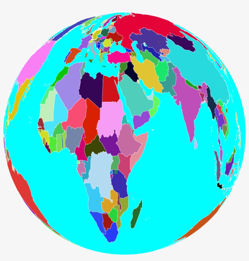 This Free Icons Png Design Of Colorful World Globe, transparent png #322396