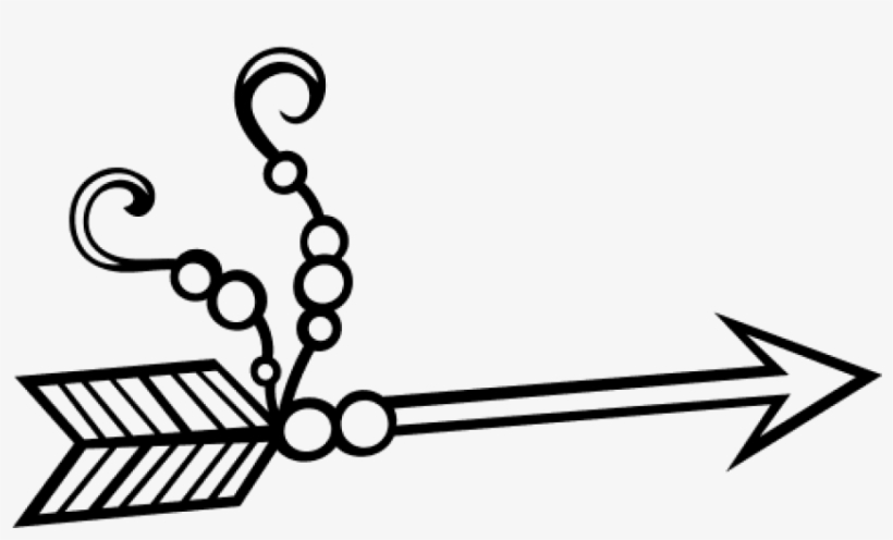 Bow And Arrow Outlines, transparent png #322422