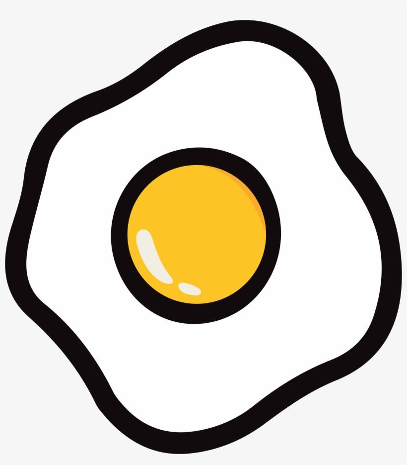 Egg - Fried Egg, transparent png #322514