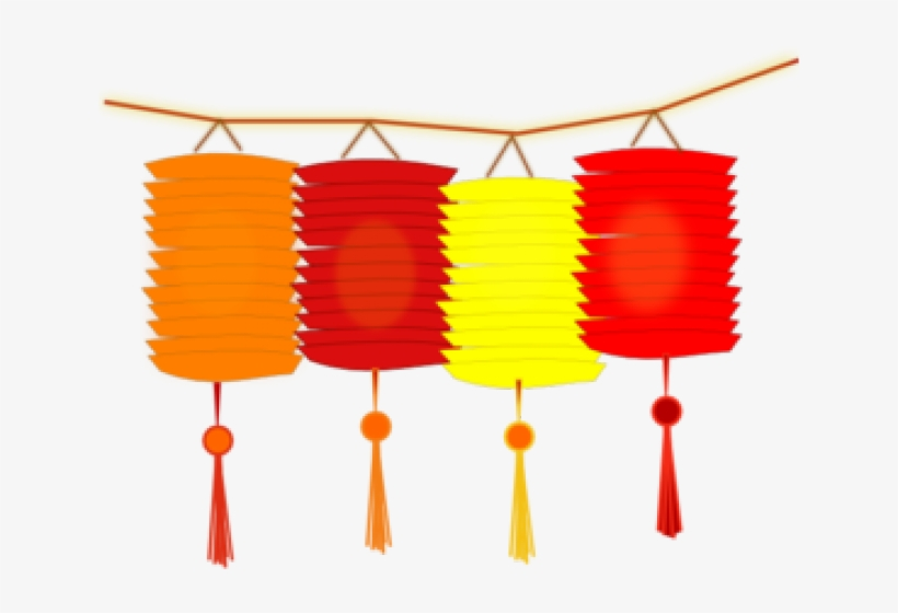 Lantern Clipart Transparent - Chinese New Year Clipart ...
