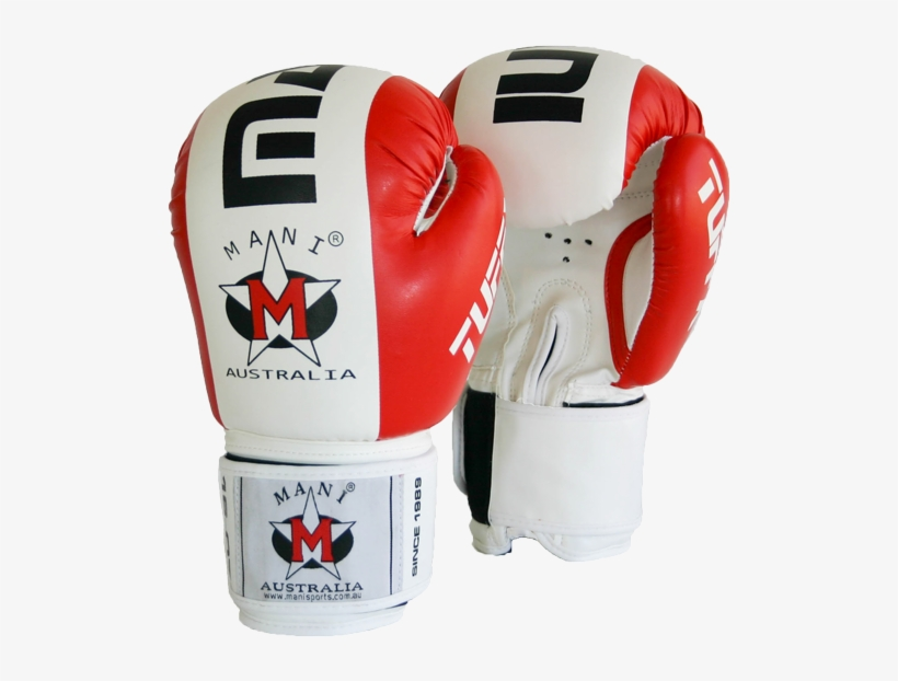 Boxing Gloves - Tuffx Boxing Gloves Colour: Red & White, Weight:, transparent png #323672