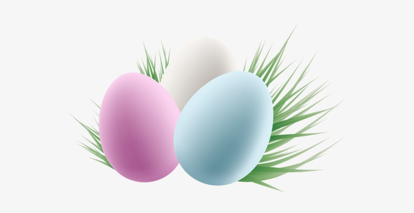 Transparent Easter Eggs And Grass Clipart Picture Png - Easter Eggs Free Clip Art, transparent png #323975