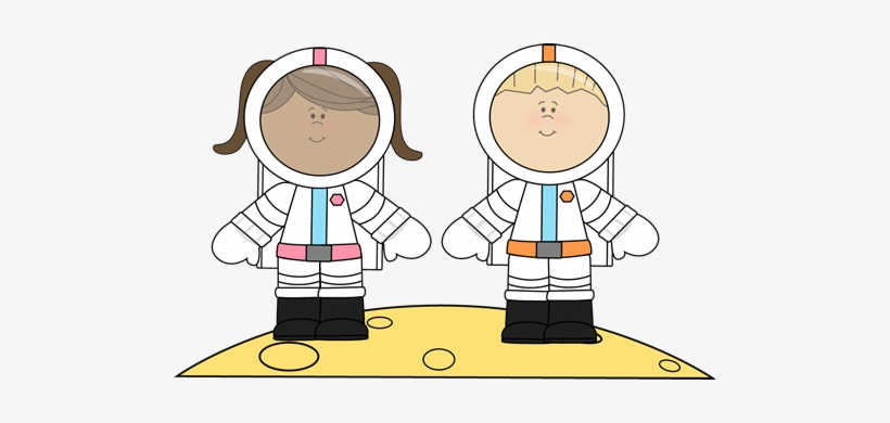 Jpg Freeuse Library Collection Of For Kids High Quality - Astronauts Clipart, transparent png #325627