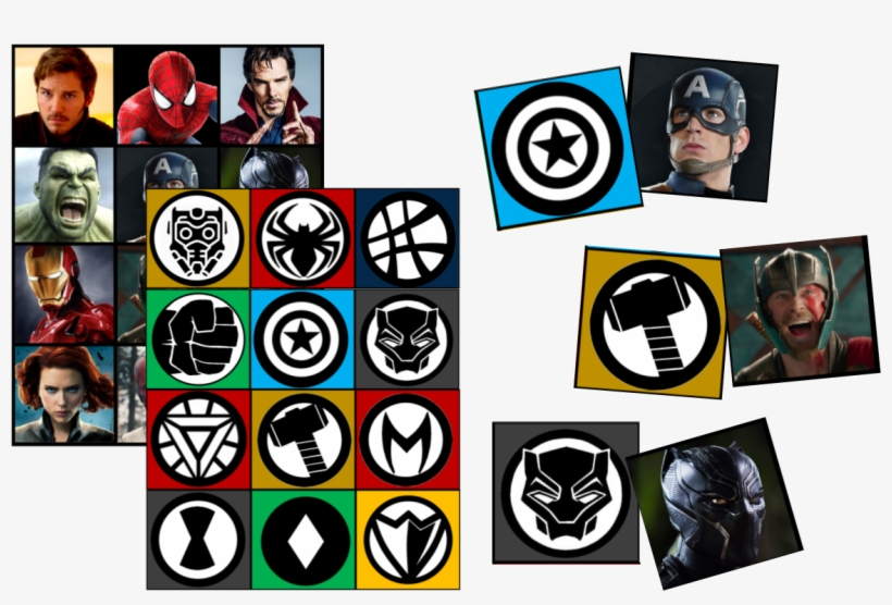 Top 10 Avengers Infinity War Party Games & Ideas - Marvel Infinity War Icons, transparent png #326693