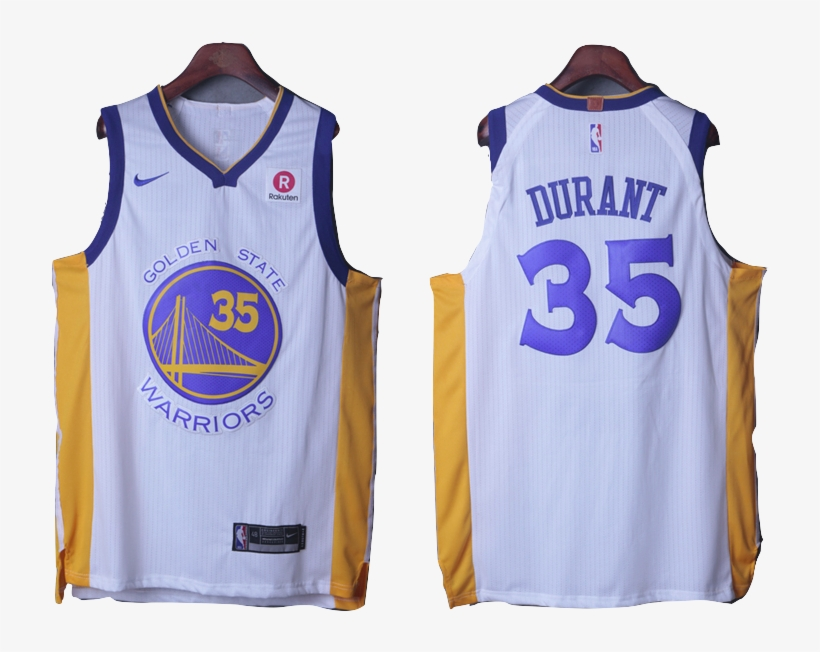 Golden State Warriors Jersey - Warriors #35 Kevin Durant Yellow Jersey - S, transparent png #326864