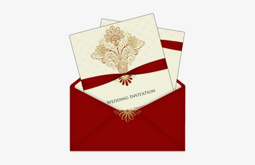 Maroon Cream And Gold Card In A Lovely Letter Style Shadi Card