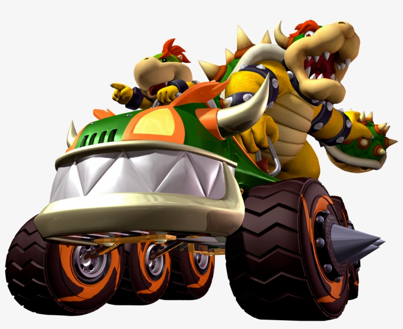 Mario Kart Double Dash Bowser And Bowser Jr Mario Kart