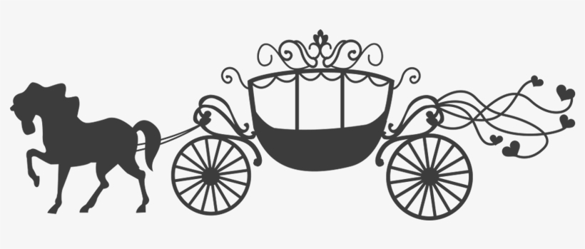 Image Result For Carruajes Princesa En Png - Princess Horse Carriage Png, transparent png #329107