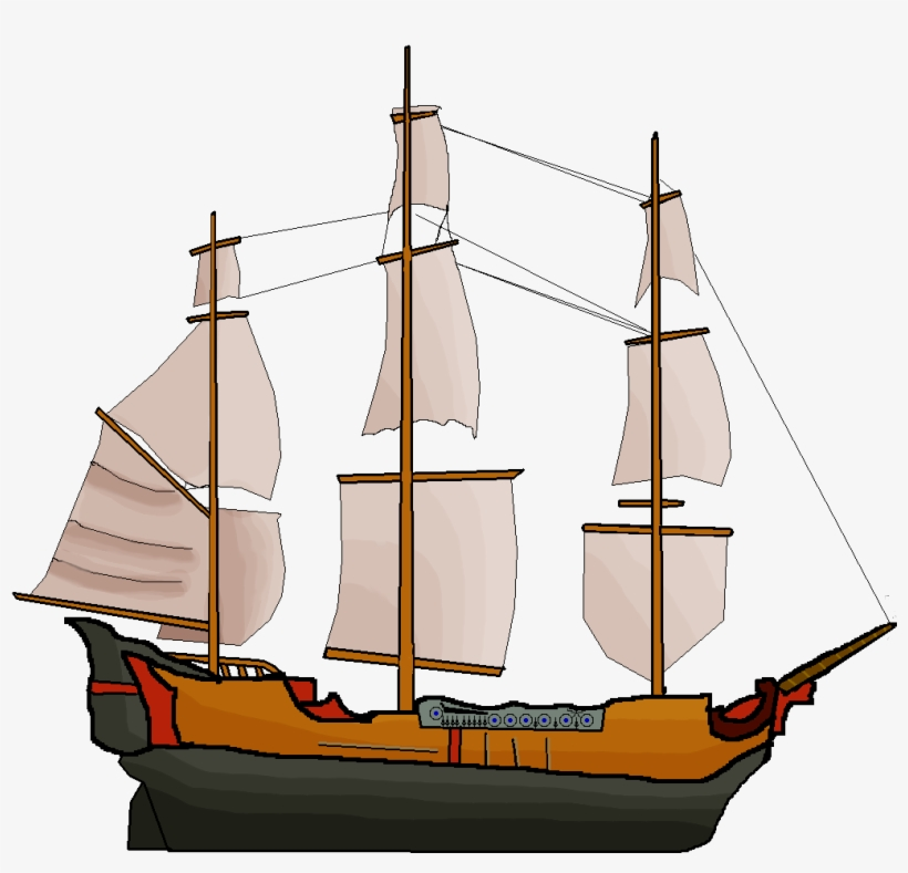 Graphic Library Stock Large Pirate Ship Image - Pirate Ship Transparent, transparent png #329202