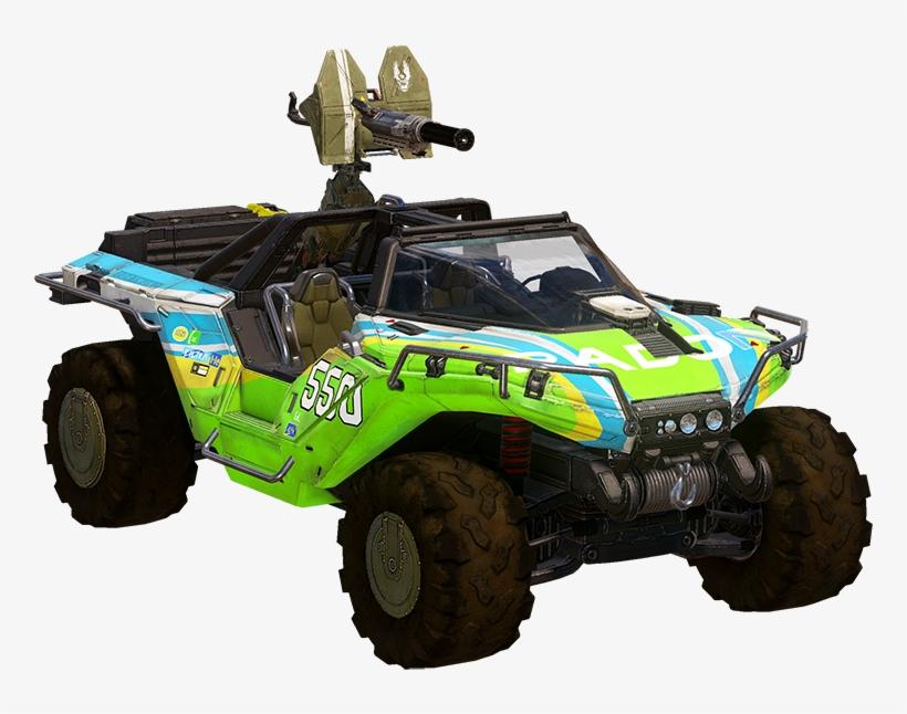 Rally Warthog - Halo 5 Rally Warthog, transparent png #329224