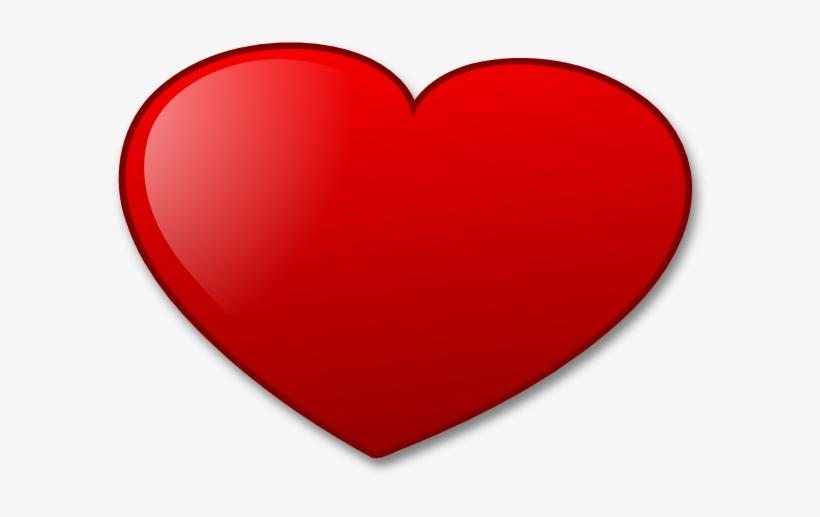 Heart Download Free Vector Love Online, Art Art Free - Valentines Day Cartoon Heart, transparent png #329876