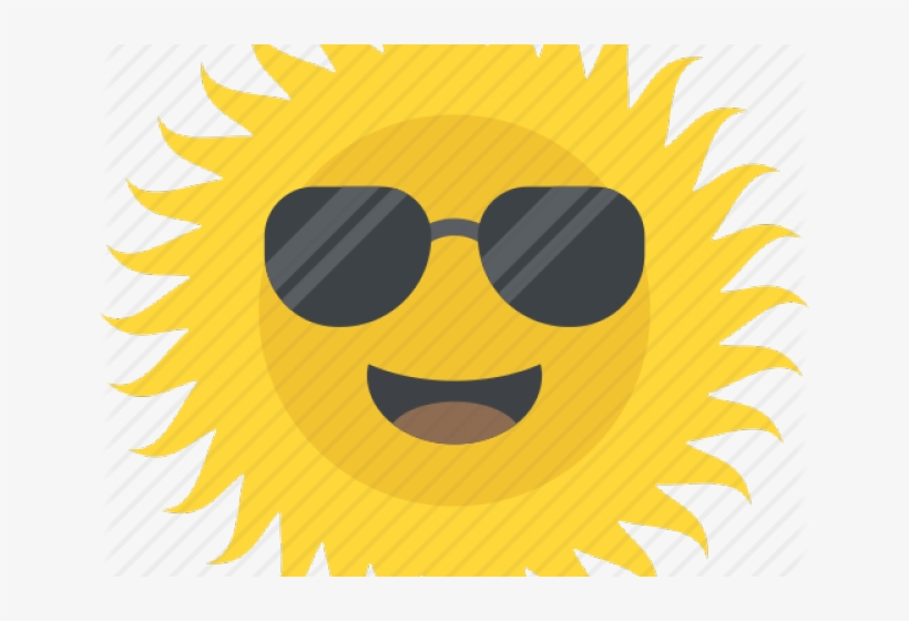 Picture Of A Smiling Sun - Summer Season Icon, transparent png #3200771