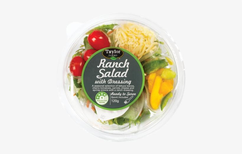 Taylor Farms Ranch Salad Bowl - Taylor Farms, transparent png #3201625