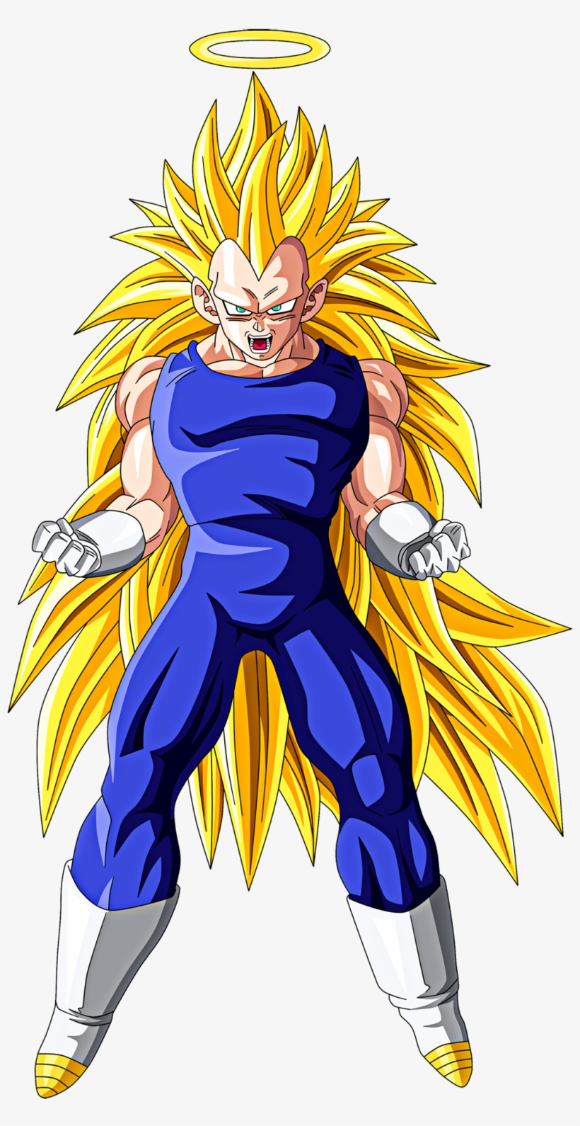 Dragon Ball Z Characters Vegeta - Dragon Ball Z Vegeta Super Sayen, transparent png #3202650