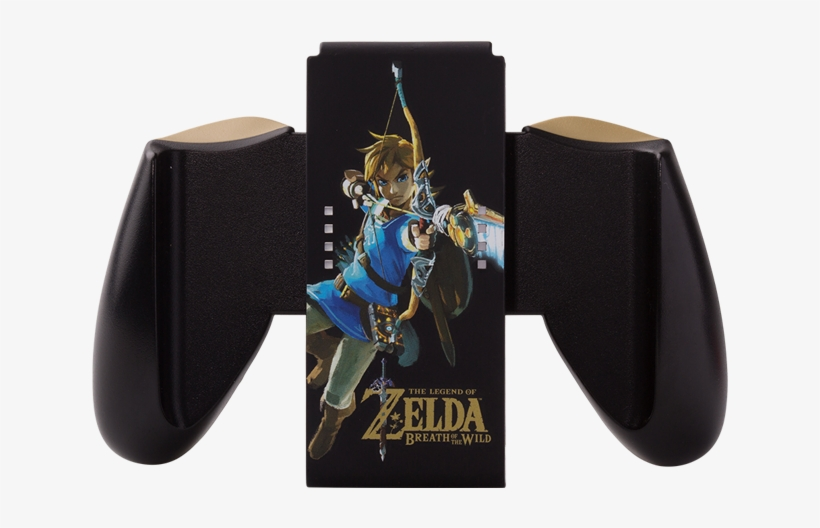 Joy-con Comfort Grip - Legend Of Zelda: Breath Of The Wild Nintendo Wii-u, transparent png #3203481