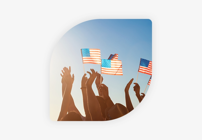 American - Shows The Love In Your Country, transparent png #3203611
