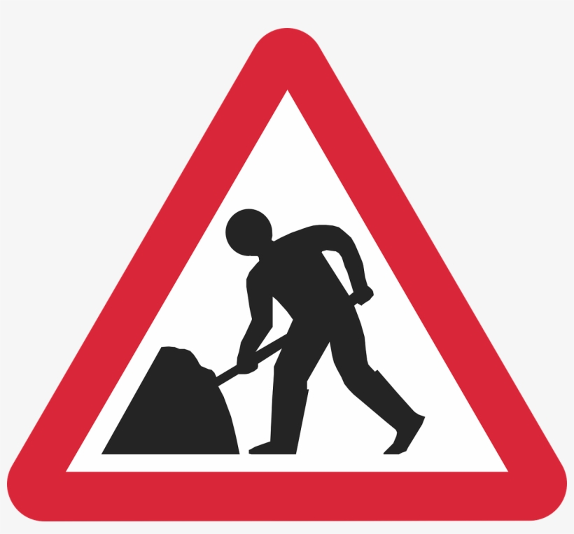 Another Summer, Another Bridge Closure Haydons Road - Road Works Traffic Cone Sign, transparent png #3204686