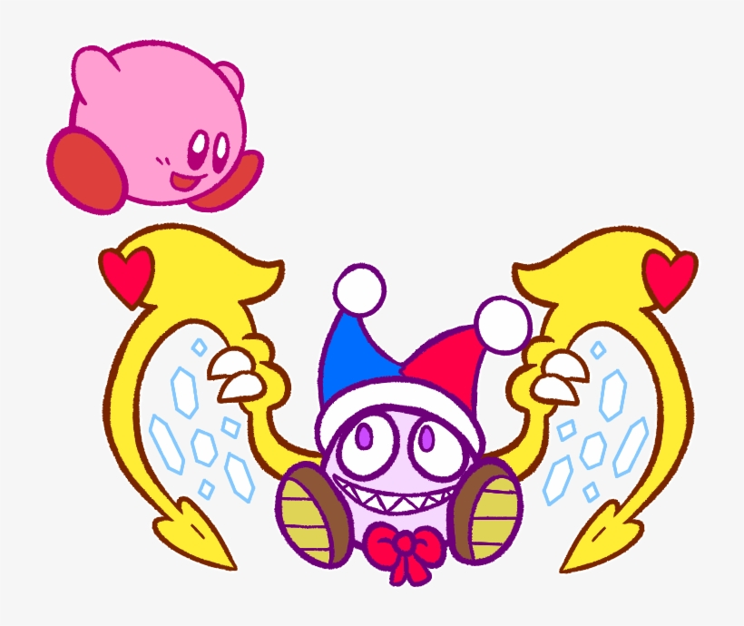 Marx Confirmed For Kirby Kirby X Marx Free Transparent Png