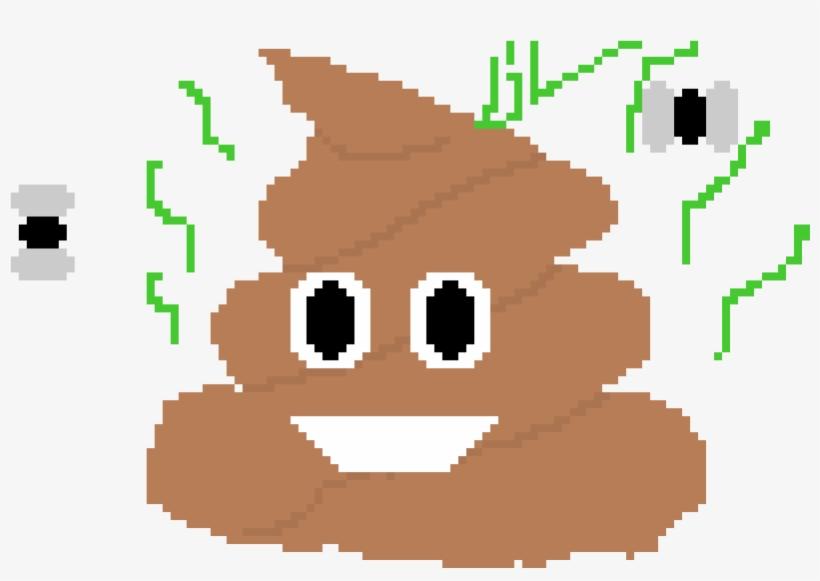 Poop Emoji - Poop Emoji Pixel Art Png, transparent png #3205737