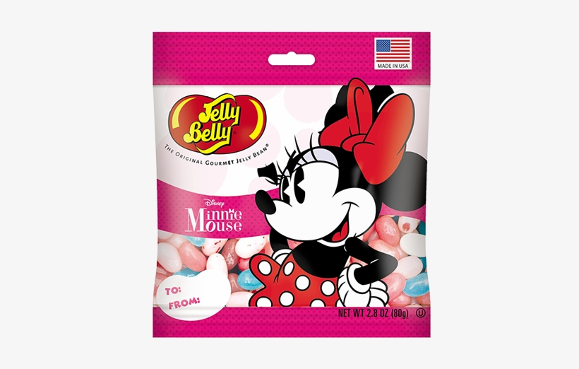 Jelly Belly Minnie Mouse Jelly Beans - Jelly Belly, transparent png #3206893