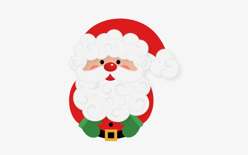 Santa Claus Svg Scrapbook Cut File Cute Clipart Files - Computer File, transparent png #3208500