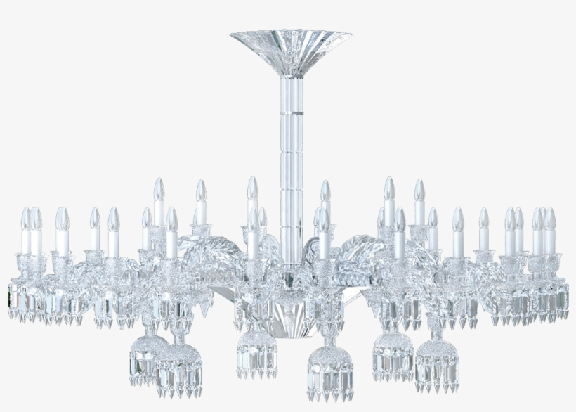 Paris 36l 3d View - Chandelier - Free Transparent PNG