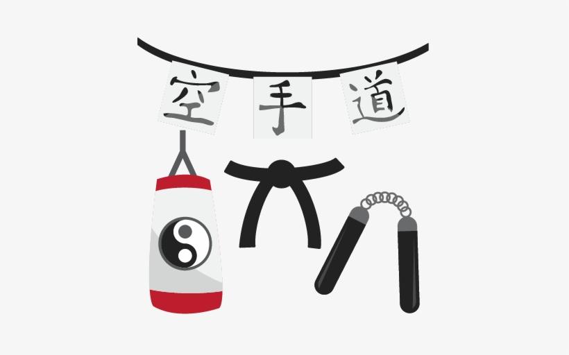 Santa Claus Makes Techniques Karate : Stockfoto (Jetzt bearbeiten) 333338636
