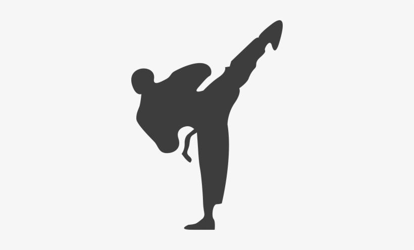 Martial Arts Clipart Korean Taekwondo Black And White Free Transparent Png Download Pngkey