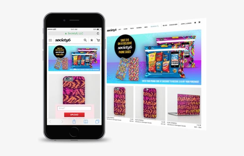 Mobilewebscreens - Fur Stripes Iphone 6 Slim Case By