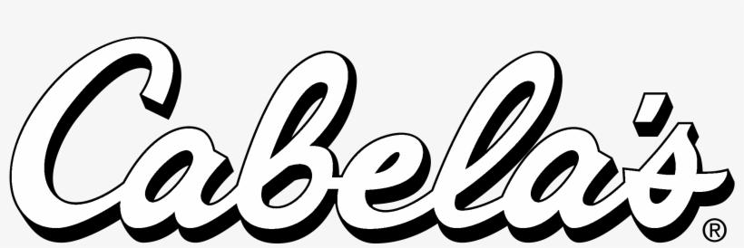 Cabela's Logo Black And White - Bass Pro Cabela's Logo, transparent png #3211661