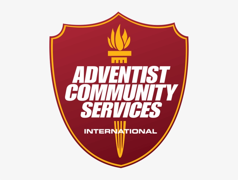 Adventist Community Services Had Been Part Of The General - Seventh Day Adventist Community Services Logo, transparent png #3218711