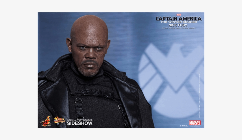 1 Of - Hot Toys Winter Soldier Nick Fury, transparent png #3221464