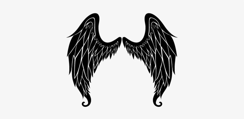 Angel Wings Wall Art Sticker Engel Vleugels Free Transparent Png