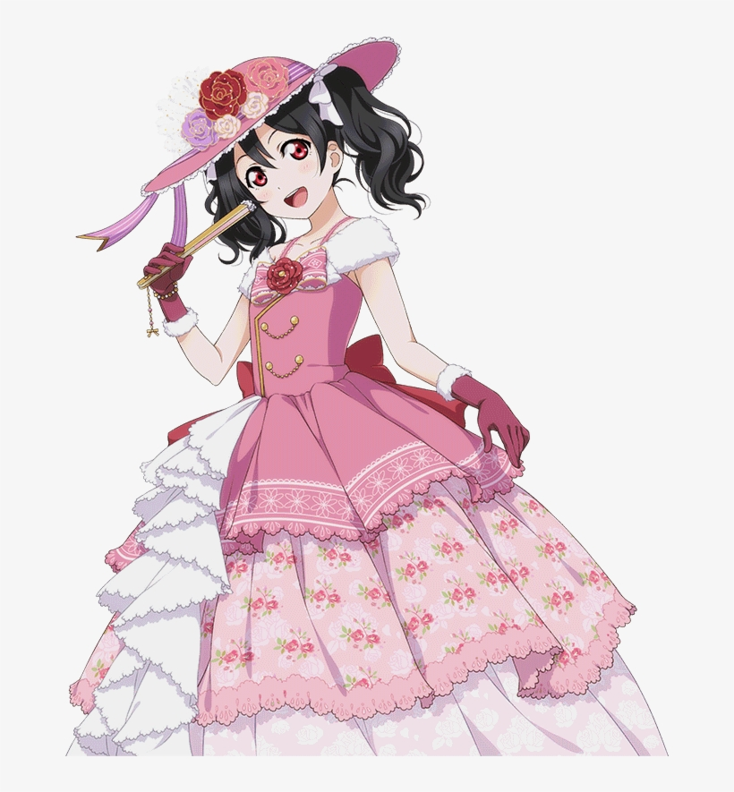 School Idol Tomodachi - Nico Yazawa Cards Render, transparent png #3223325