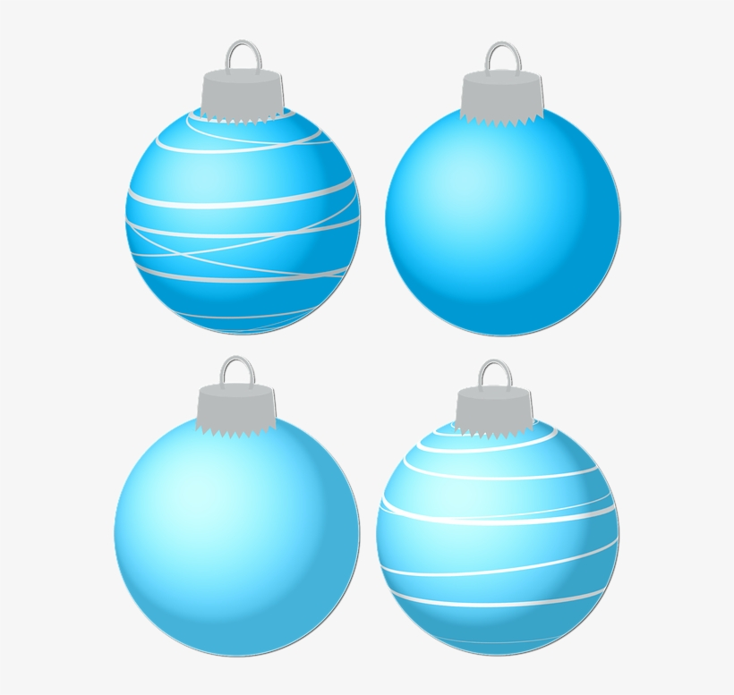 Bauble, Christmas Baubles, Ornament, Christmas, Blue - Christmas Day, transparent png #3223536