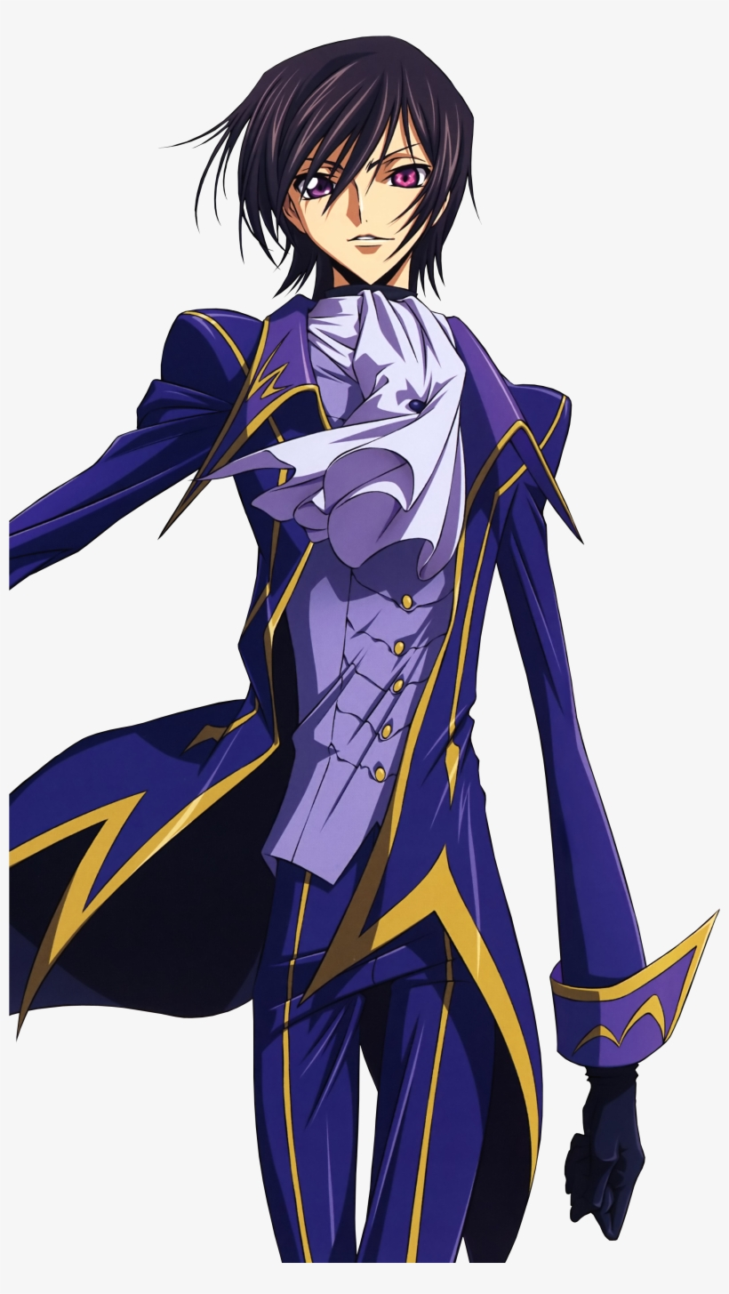 Lelouch Lamperouge Best Character In Anime History - Code Geass