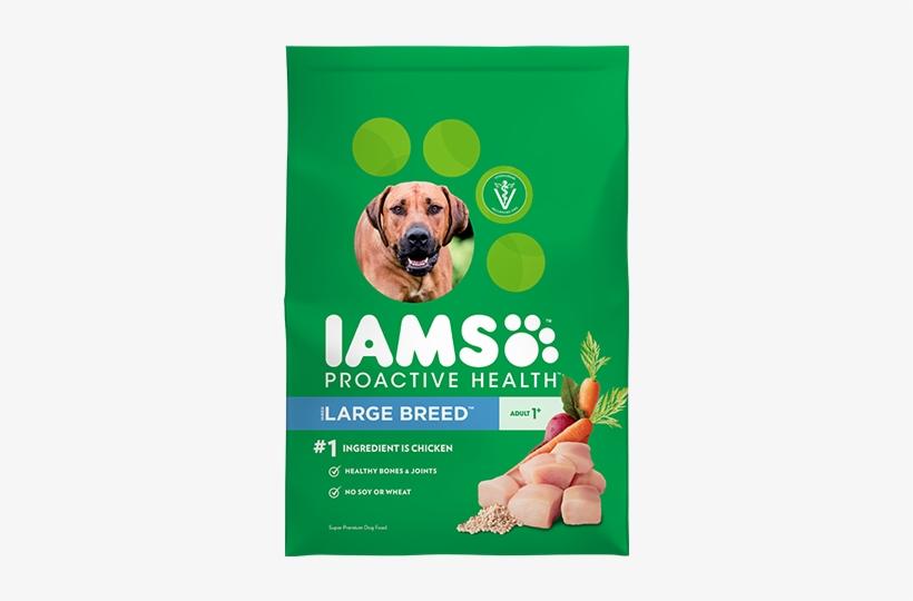 Iams Large Breed Dog Food, transparent png #3224393