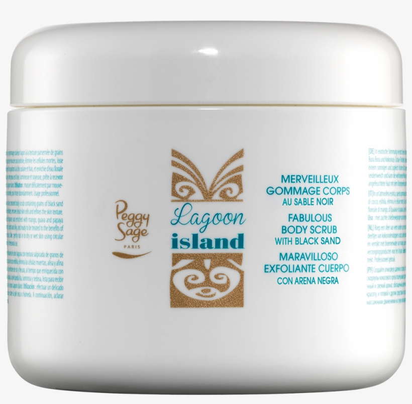 Fabulous Body Scrub With Black Sand - Gommage Merveilleux Pour Le Corps Lagoon Island, transparent png #3224698