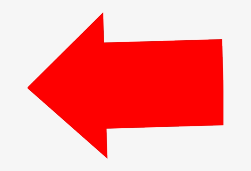 Useful For Developer Left Arrow Clipart Bese64 Converted - Left Red Arrow Transparent Background, transparent png #3226766