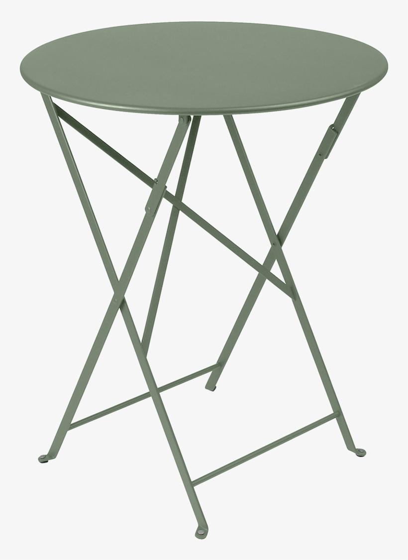 Fermob Bistro Round Folding Table 0245 - Fermob Bistro Round Folding Table, transparent png #3227570